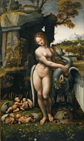 Leonardo-Leda-cigno
