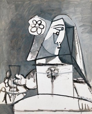 Picasso-busto-menines