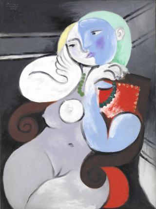 Picasso-donna-nuda-in-poltrona