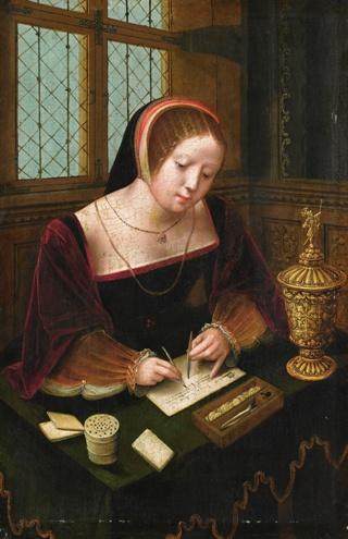 scrivana-inglese