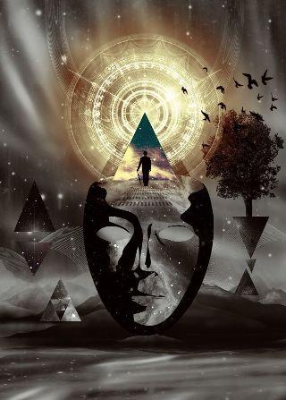 surreal-maschera-triangoli