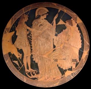 Teseo-Atena-Anfitrite