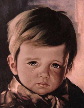 bimbo-che-piange-paint