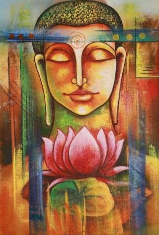 Buddha-lotus