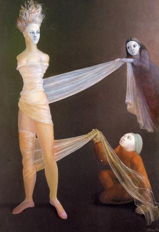 Leonor-Fini-cariatide-sfasciata
