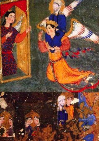 Maometto-angelo-Ridwan