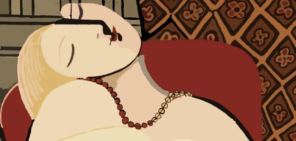 Picasso-addormentata