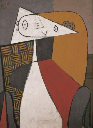 Picasso-donna-seduta-30