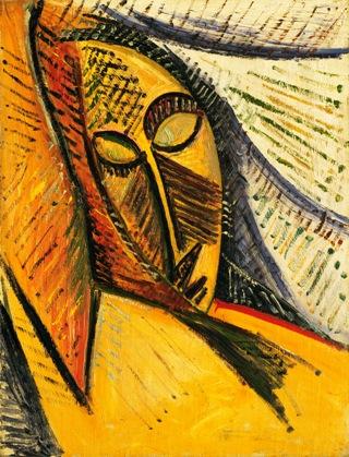 Picasso-testa-donna-addormentata