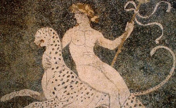 Dioniso-pantera-mosaico