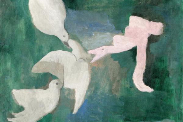 Laurencin-colombe