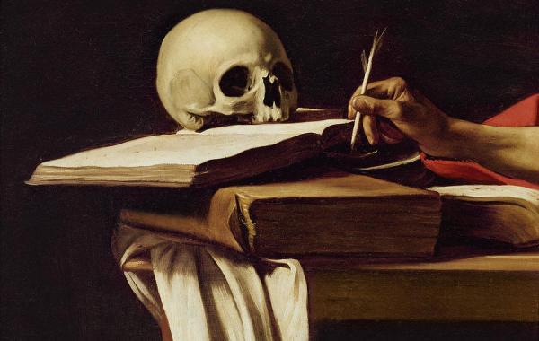 Caravaggio-san-Girolamo-dettaglio