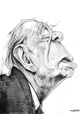 Cast-Borges-caricatura