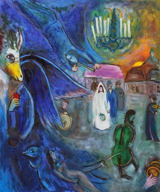 Chagall-candele-nozze