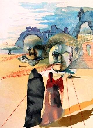 Dalì-Dante-Beatrice