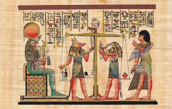 Egitto-pesatura-anime