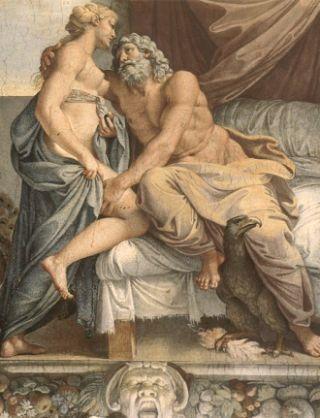 Carracci-Giove-Giunone