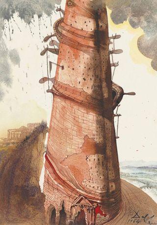 Dalì-torre-Babele