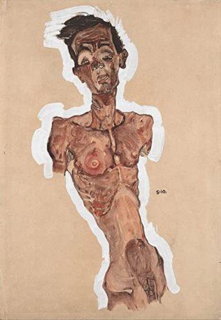 Egon Schiele-autoritratto-nudo-2