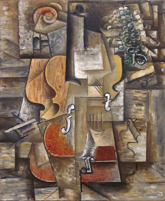 Picasso-violino-grapes