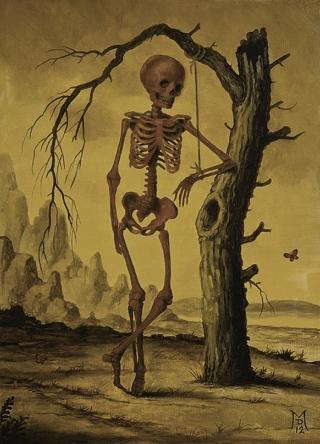 Davis-scheletro