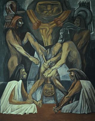 Orozco-sacrificio-umano
