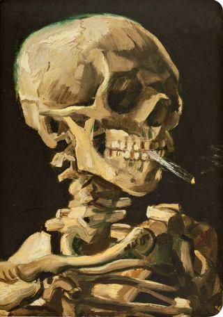 van-Gogh-teschio-sigaretta