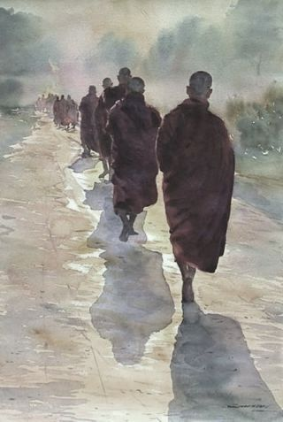 monaci-buddhisti