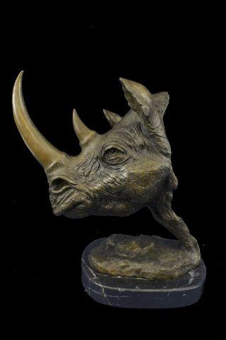 Dalì-rinoceronte-bronzo