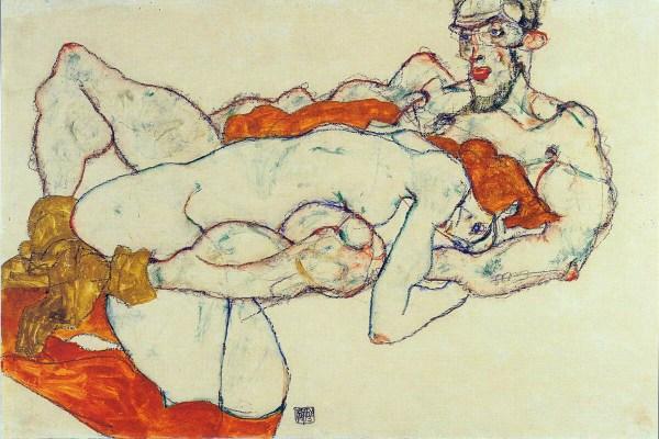 Egon Schiele-amanti